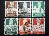 Germany Nazi 1934 Stamps Used WWII Third Reich Deutsches Reich German Deutschlan