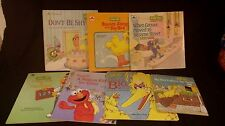 Vintage Golden Books - Sesame Street (7 books)