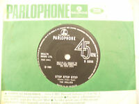 HOLLIES STOP STOP STOP / IT'S YOU solid centre parlophone 5508 EX+.....45 rpm