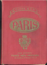 GUIA DE PARIS EDITOR FRANCO IBERO AMERICANA 1950 CON PLANOS A COLOR TC11977 A6C2