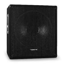 "Skytec Active 15"" PA Subwoofer 600w DJ Stage Speaker Karaoke Party Sub Woofer"