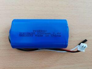 Akku pack  Kabel 7,4V 2200mAh Universal JST - 2P Stecker