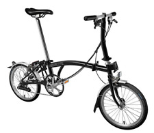 Brompton S6L 2019 Folding Bike BLACK FREE UK EU Shipping