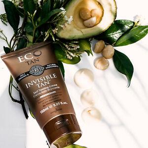 Eco Tan Invisible Tan (x1) Self Tanning (150ml) Organic CERTIFIED TOXIC FREE