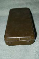 vintage Falls City travel size tackle box