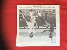 m2M ephemera 1966 football picture world cup portugal bulgaria eusabio gaganelov