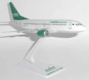 Boeing 737-300 Channel Express Snap Fit Collectors Model Scale 1:180