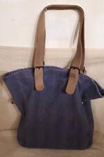 ESPRIT Damen Tasche GROß Hand Bag Schultertasche Tasche Blau Shopper Ladies Neu