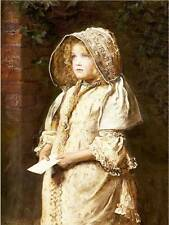 Old fashioned Girl in Bonnet  William Henry MILLAIS