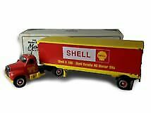 First Gear 19-1392 Die-Cast 1960 Mack B-61 Shell Tractor Trailer (Sealed Case!)