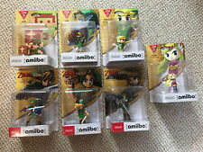 The Legend Of Zelda 30th Anniversary Complete 7 Amiibo Collection