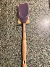 New listing New Le Creuset Revolution Spatula Spoon Wood Handle Cassis Vb302-72