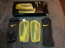 Nike Mercurial Lite SuperLock Shin Guard Sp2163-060 Size Adult Large *New*