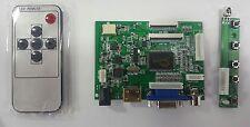 "JBtek 10.1"" High LCD Monitor Display HDMI VGA AV Driver Board for Raspberry Pi"