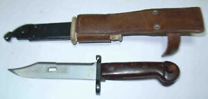 Romania Type KM 1 .-/-.-//   Bayonet with scabbard and a curtain