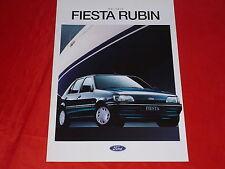 """FORD FIESTA """"RUBINO"""" speciale prospetto modello di 1993"""