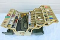 Plano Tackle Box 8606 FULL of Lures Fishing Gear Line Lots of Compartments