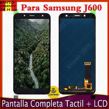 PANTALLA PARA SAMSUNG GALAXY J600 J6 2018 J600F LCD TACTIL DIGITALIZADOR NEGRO