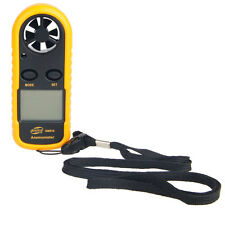 GM816 Handheld Air Wind Speed Scale Gauge Meter Digital Anemometer Thermometer
