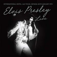 "Elvis Presley - Live International Hotel Las Vegas [White vinyl] LP 12"""