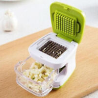 1PC Stainless Press Vegetable Garlic Onion Slicer Chopper Cutter Dicer T G4SXUI