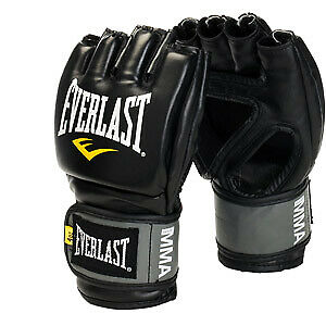 Everlast Pro Style MMA Grappling Gloves S/M Black