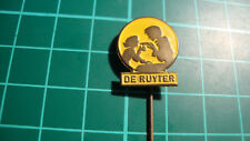 De Ruijter speldje stick pin badge 60s 60's original lapel Dutch Ruyter