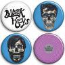 The Black Keys - 4 chapas, pin, badge, button