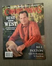 Cowboys & Indians Magazine - Bill Paxton - May/June 2015 Issue - Very Good