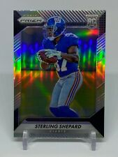 2016 Panini Prizm Sterling Shepard Silver Refractor #300 Rookie RC NY Giants
