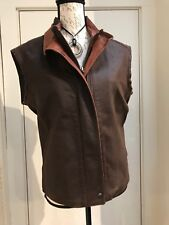 Women's Remy Leather Vest-- New with tags