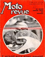 MOTO REVUE 1933 GUZZI 700 V7 Dave Degens DRESDA BMW R26 Grand Prix France 1969