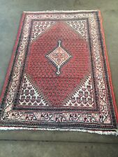 antiques-swiss****** Beautiful Antique indoSARUGH Mir rug 3`6 x 5`4 ft