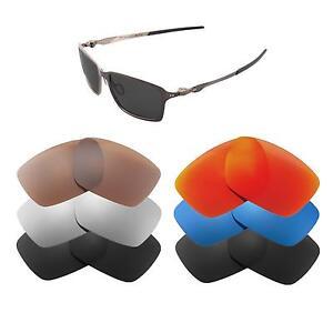 Walleva Replacement Lenses for Oakley Tincan Sunglasses-Multiple Options