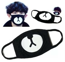 EXO Chanyeol Chan yeol Lucky Bear Black Mouth Face Mask Kpop Unisex Cosplay
