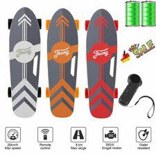 Elektro Skateboard, Elektro-Board Ahorn Skateboard mit 350W Motor E-Board 20km/h