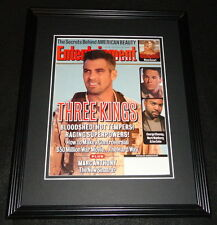 George Clooney Framed 11x14 ORIGINAL 1999 Entertainment Weekly Cover 3 Kings