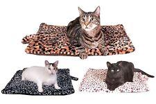 Thermal Cat Pet Dog Warming Bed Mat - Beige, Blue, White or Grey Medium & Large