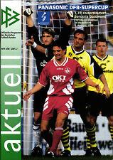 DFB-SUPERCUP 1996 Borussia Dortmund - 1. FC Kaiserslautern, Mannheim 03.08.1996