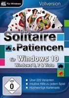 Solitaire & Patiencen für Windows 10 - PC Game - *NEU*
