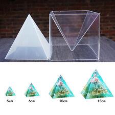 Silikon Basteln Gie�Ÿform Mould Muster Mold Anhänger Halskette Schmuck Pyramide