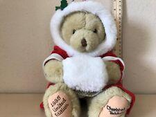 Dakin 1994 Priscilla Hillman Cherished Teddies Limited Edition Christmas Bear