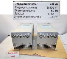 Hansa Neumann VARIATORI di frequenza 4 KW 3x400 Volt Inverter convertitore