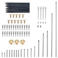 92pcs Saxophone Key Roller Reed Screws Needle Wind Instrument Repair Parts Set