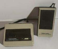 Vintage Realistic Radio Shack 43-202 FM Cordless Room /Baby Monitor tested works