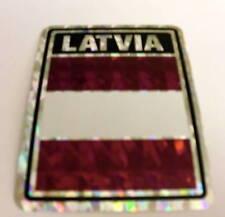 """3x4"" Latvia Sticker / Latvia Flag / Decal"