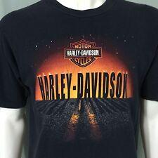 Harley Davidson Large T-Shirt Motorcycles Daytona Beach Florida Bruce Rossmeyers