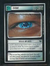 Star Trek First Contact Rare Ocular Implants NM/M