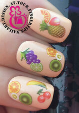 NAIL ART WRAP WATER STICKERS DECALS TRANSFERS FRUIT STRAWBERRY DECORATION #439