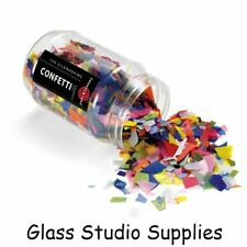 Bullseye Kiln Fusing Glass Confetti - Mini Mix 8418-04